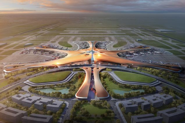 Beijing New Airport Terminal