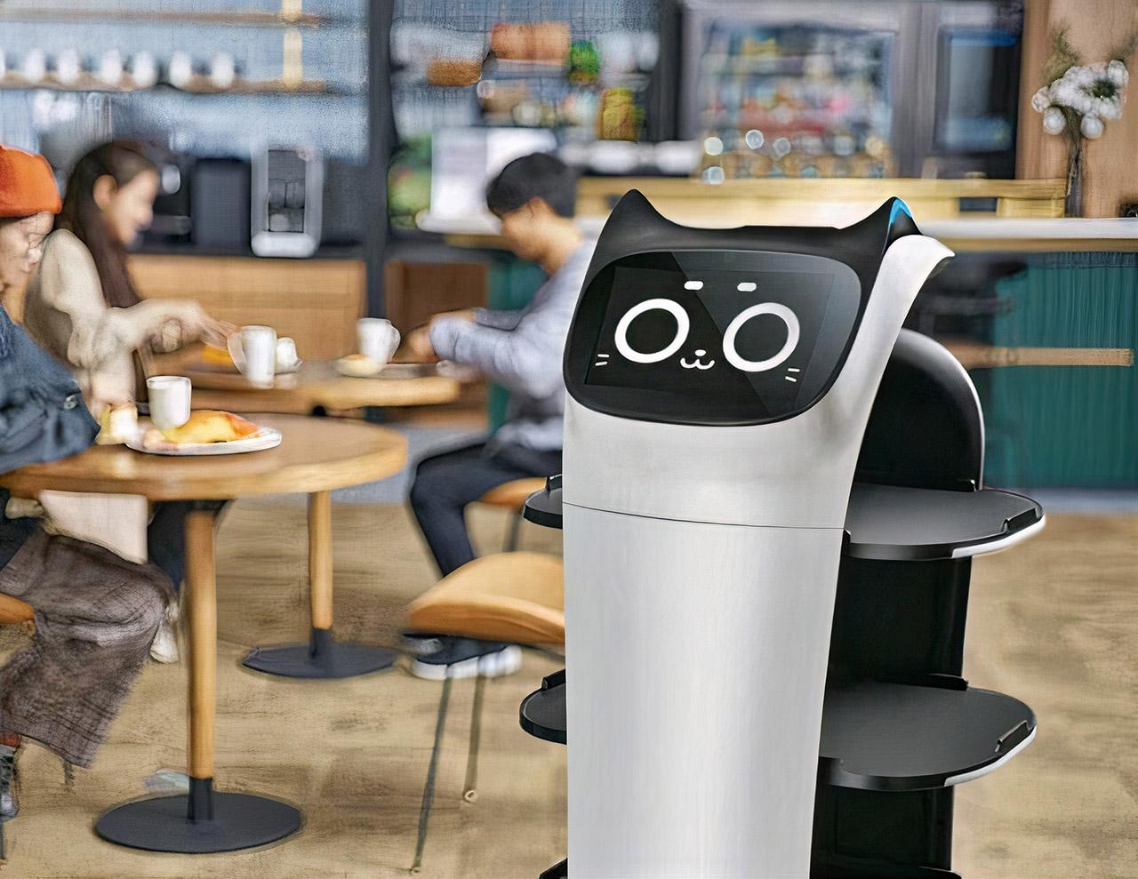 BellaBot Cat Robot