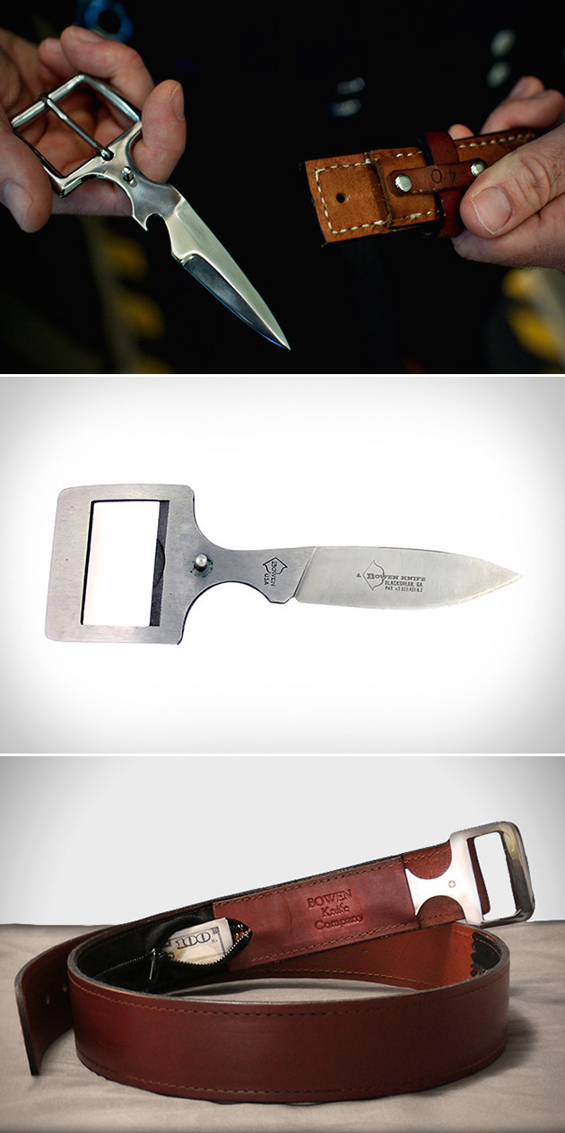 Bowen Belt Buckle Knife