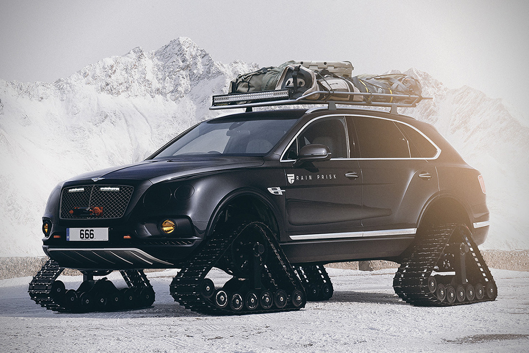 Bentley Bentayga Tracks