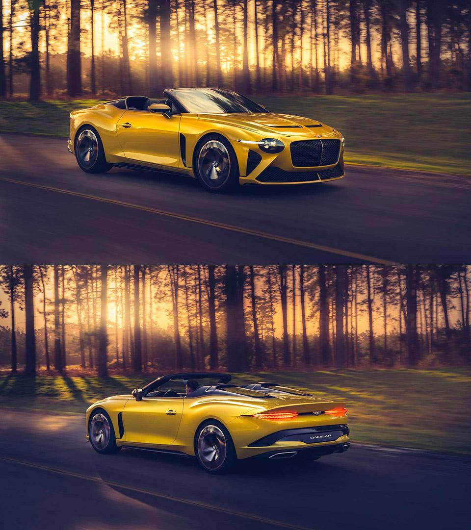 Bentley Mulliner Bacalar Grand Tourer