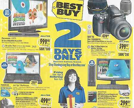 Best Buy Black Friday 2009 Sales – TechEBlog