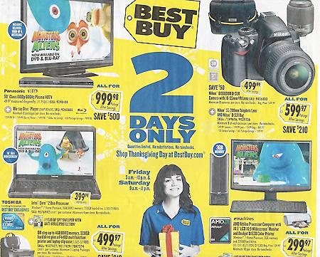 best buy  black friday 2009