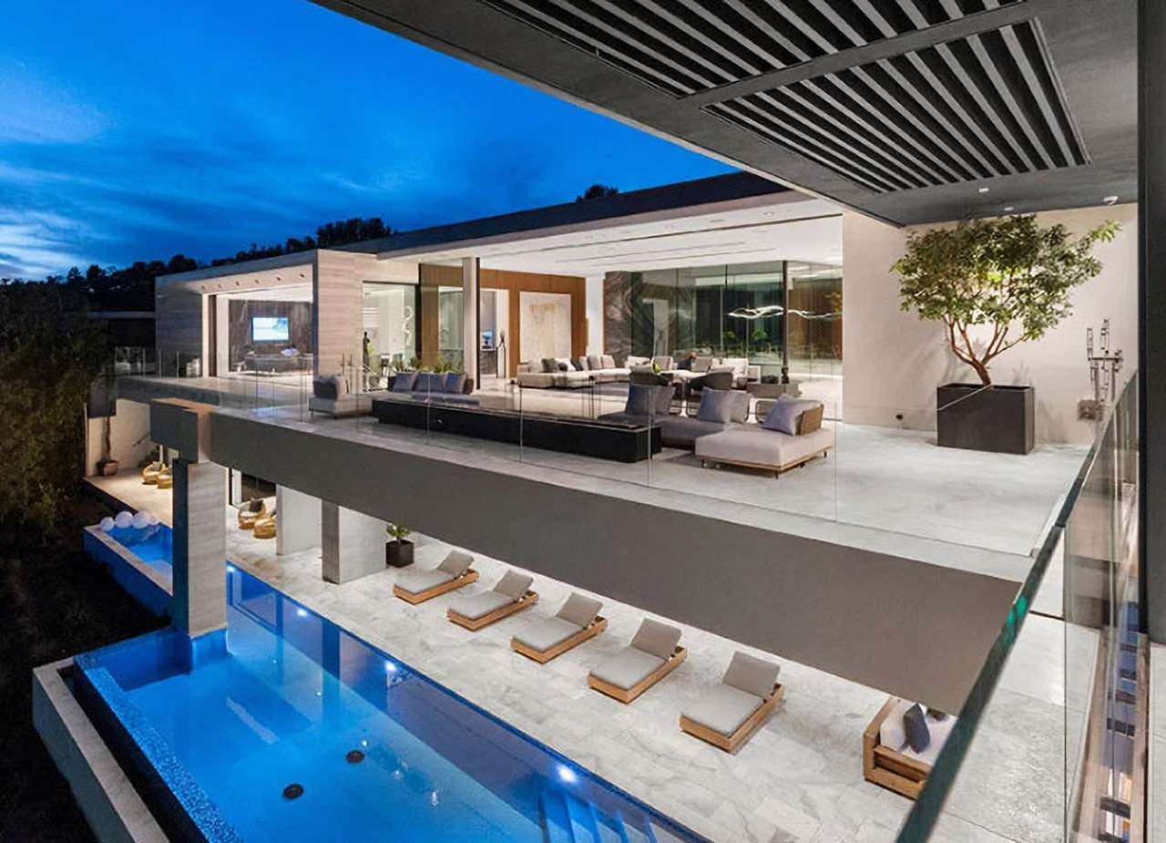 Beverly Hills Mansion Bitcoin Cryptocurrency