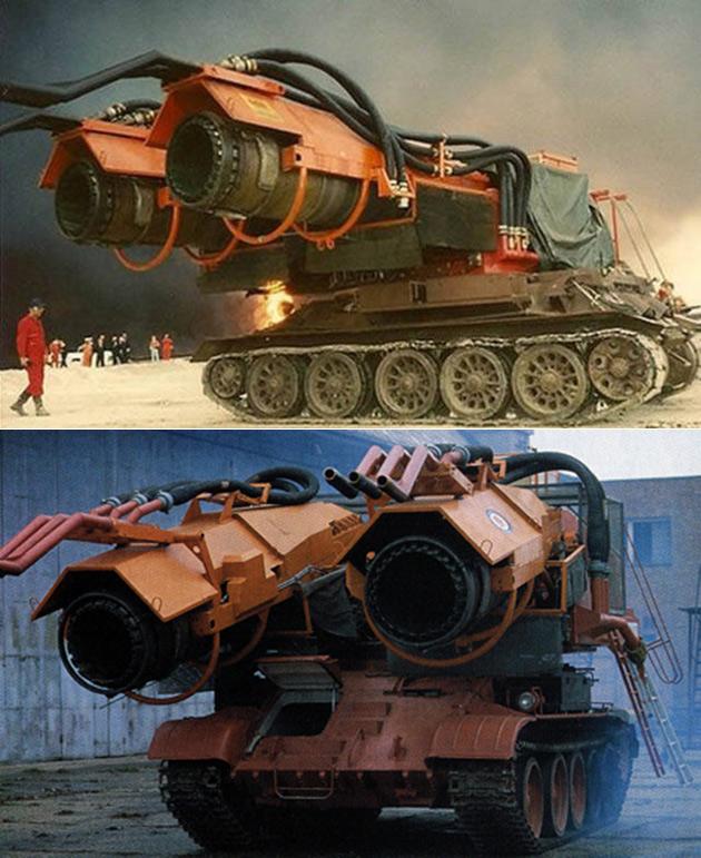 Big Wind Firefighting Tank