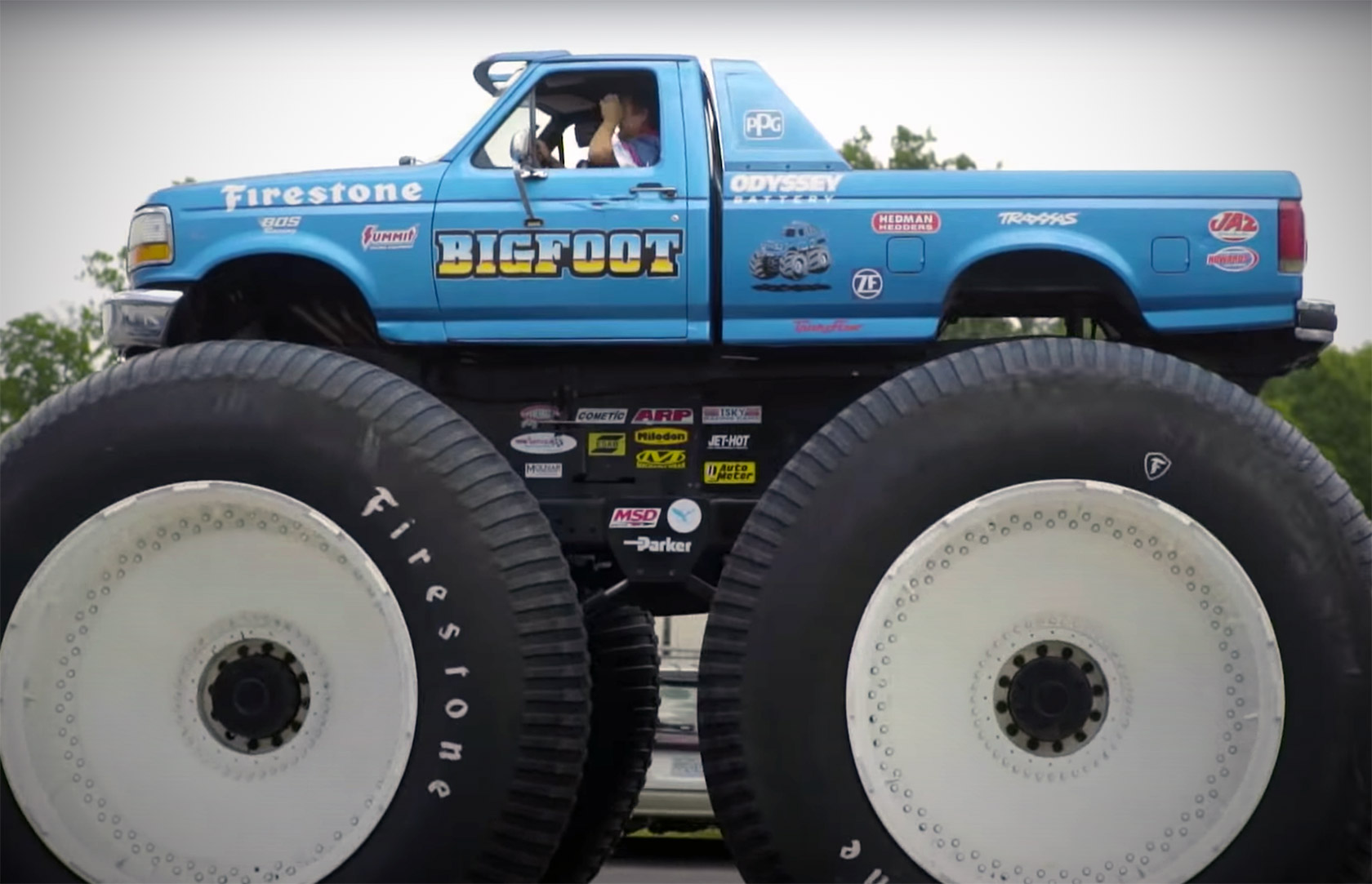 Bigfoot 5 World's Largest Monster Truck