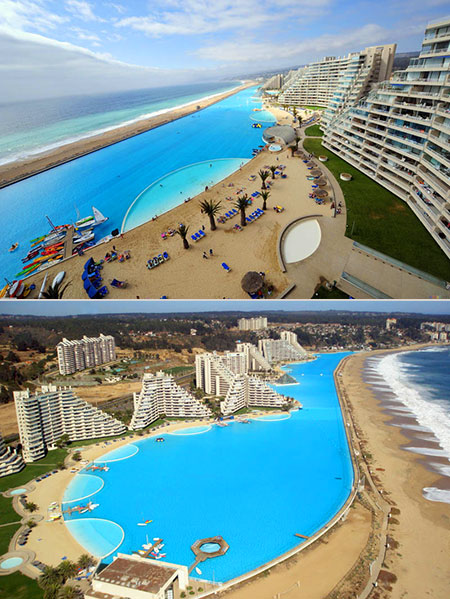 Another look at the biggest swimming pool in the world techeblog for Largest swimming pool in the us