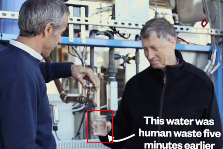 Bill Gates Human Waste
