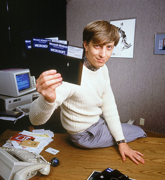 Bill Gates Windows 1.0