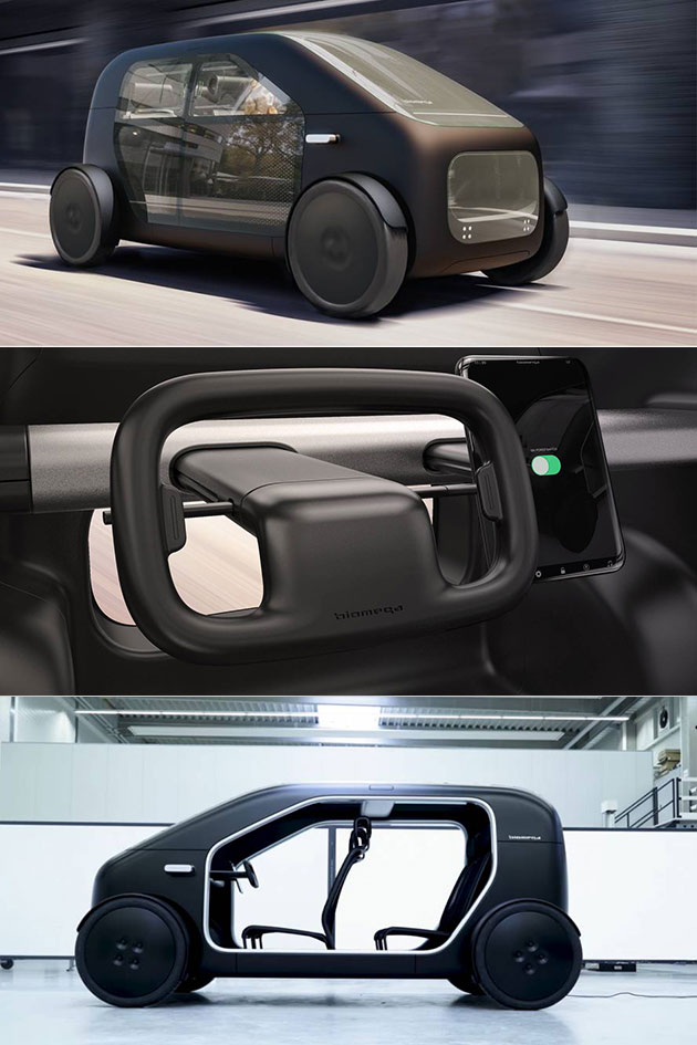Biomega SIN Electric Car