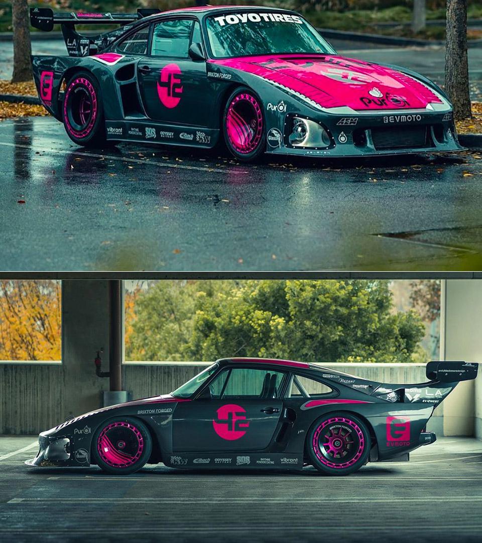 Bisimoto Electric Porsche 935