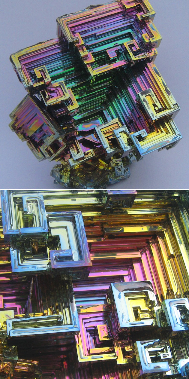 Bismuth Crystals