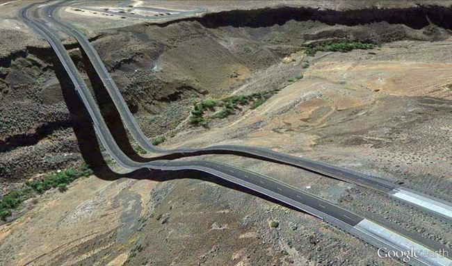 Bizarre Google Earth