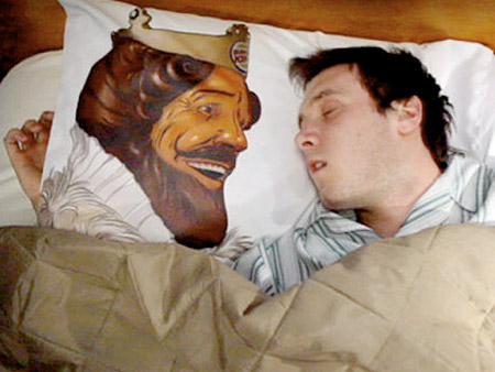 Bk Pillow Is Creepy Lets You Wake Up With The King