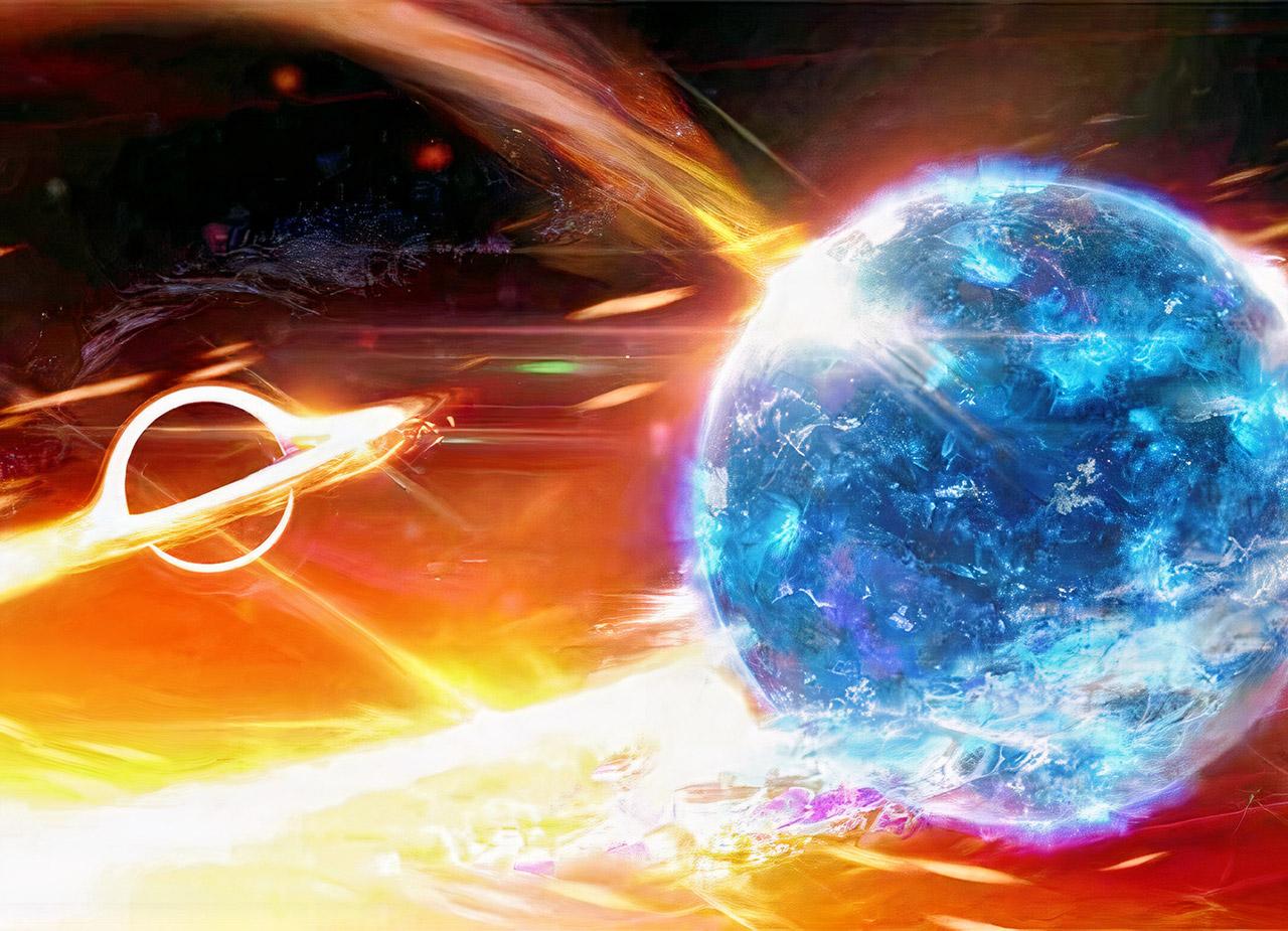 Black Holes Neutron Stars Merging