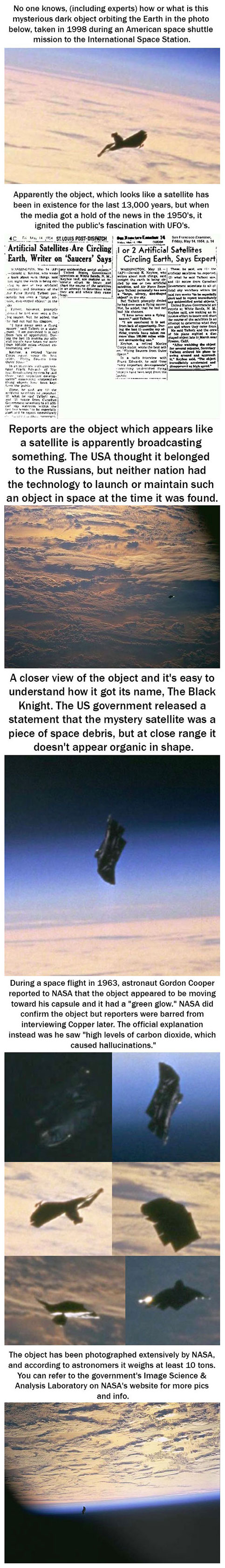 Black Knight Satellite UFO 2015