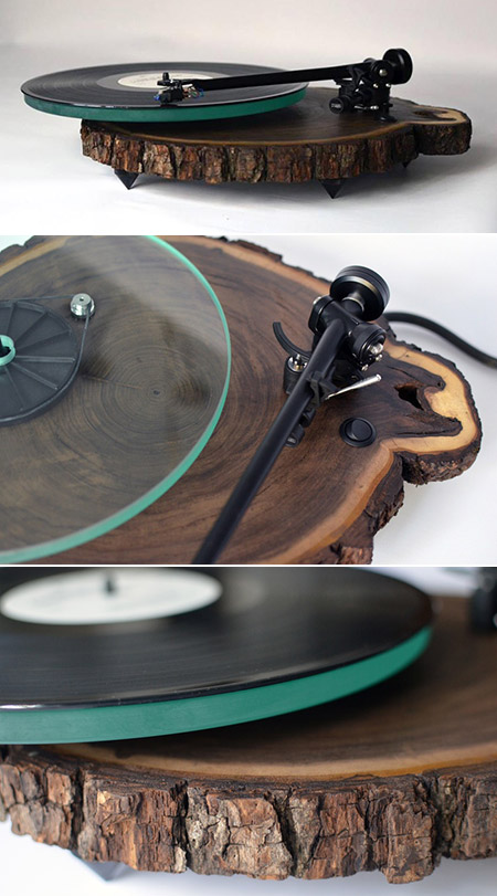 Black Walnut Turntable