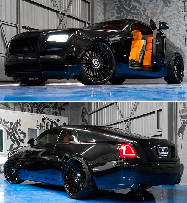 Blacked Out Rolls-Royce Wraith