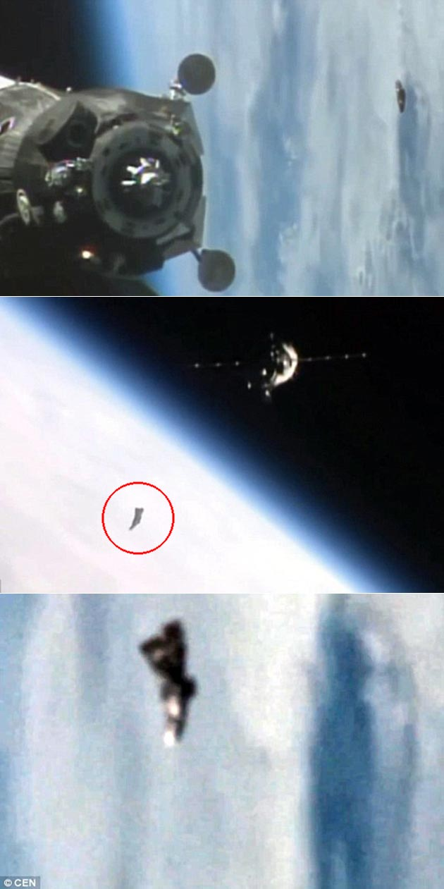 Black Knight Satellite ISS