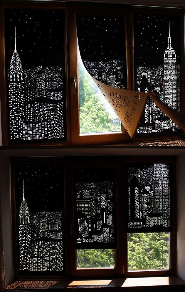 Blackout City Curtains