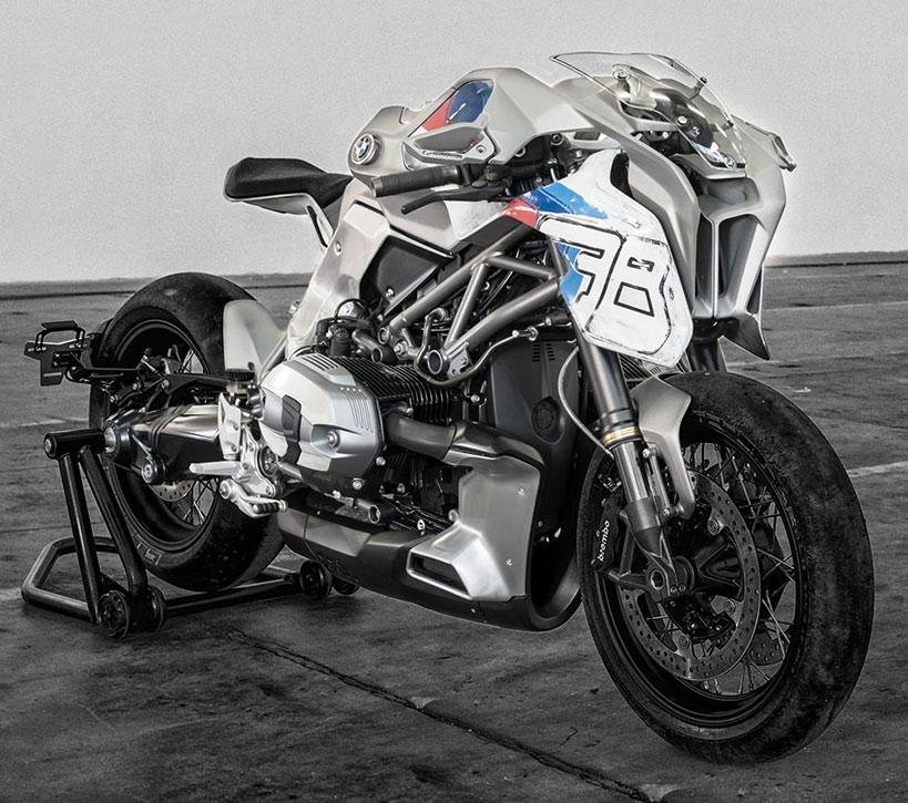 Blechmann Personnalisée de la BMW R NineT Moto Semble Prêt pour un Post-Apocalyptique Film