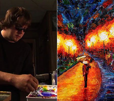 Blind Artist Paintings