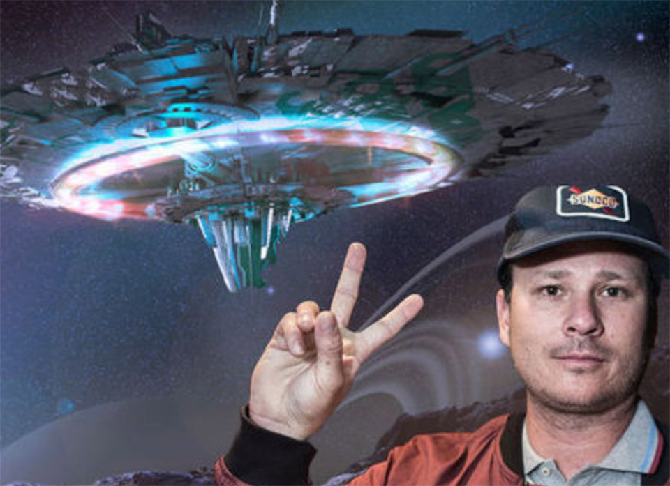 Blink 182 Tom DeLonge UFO Material To the Stars Academy