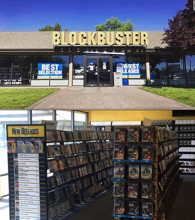 Blockbuster Bend Oregon Last Store