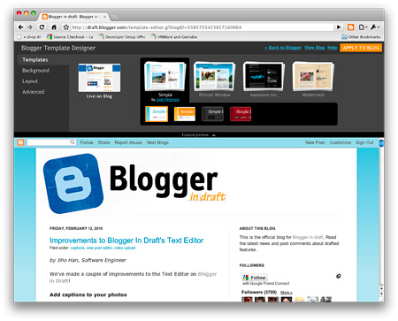 Google's Blogger Template Designer Makes Creating Stylish Websites ...