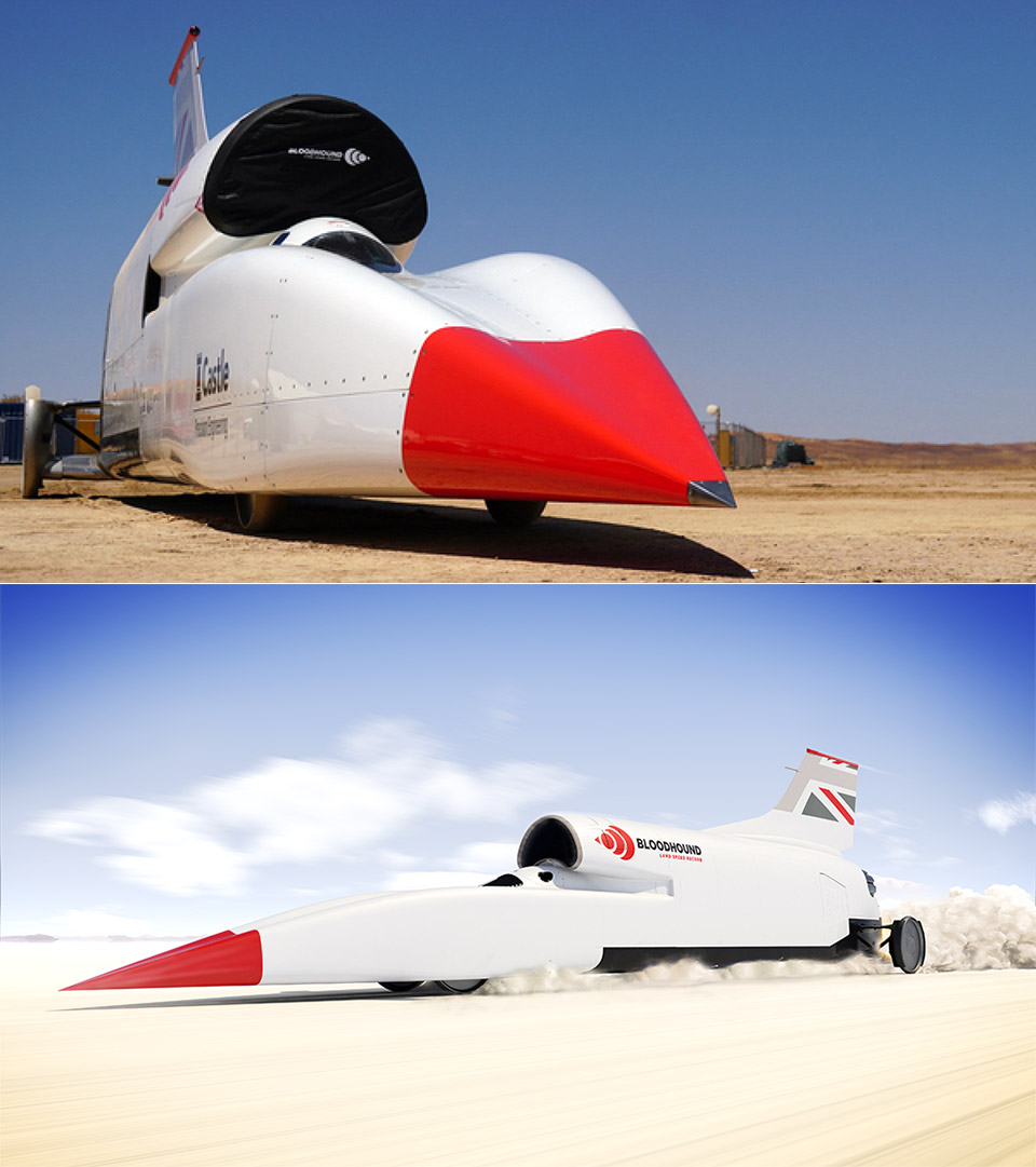 Ever Wanted To Own A Land Speeder? The Bloodhound Is Up For Sale - cover