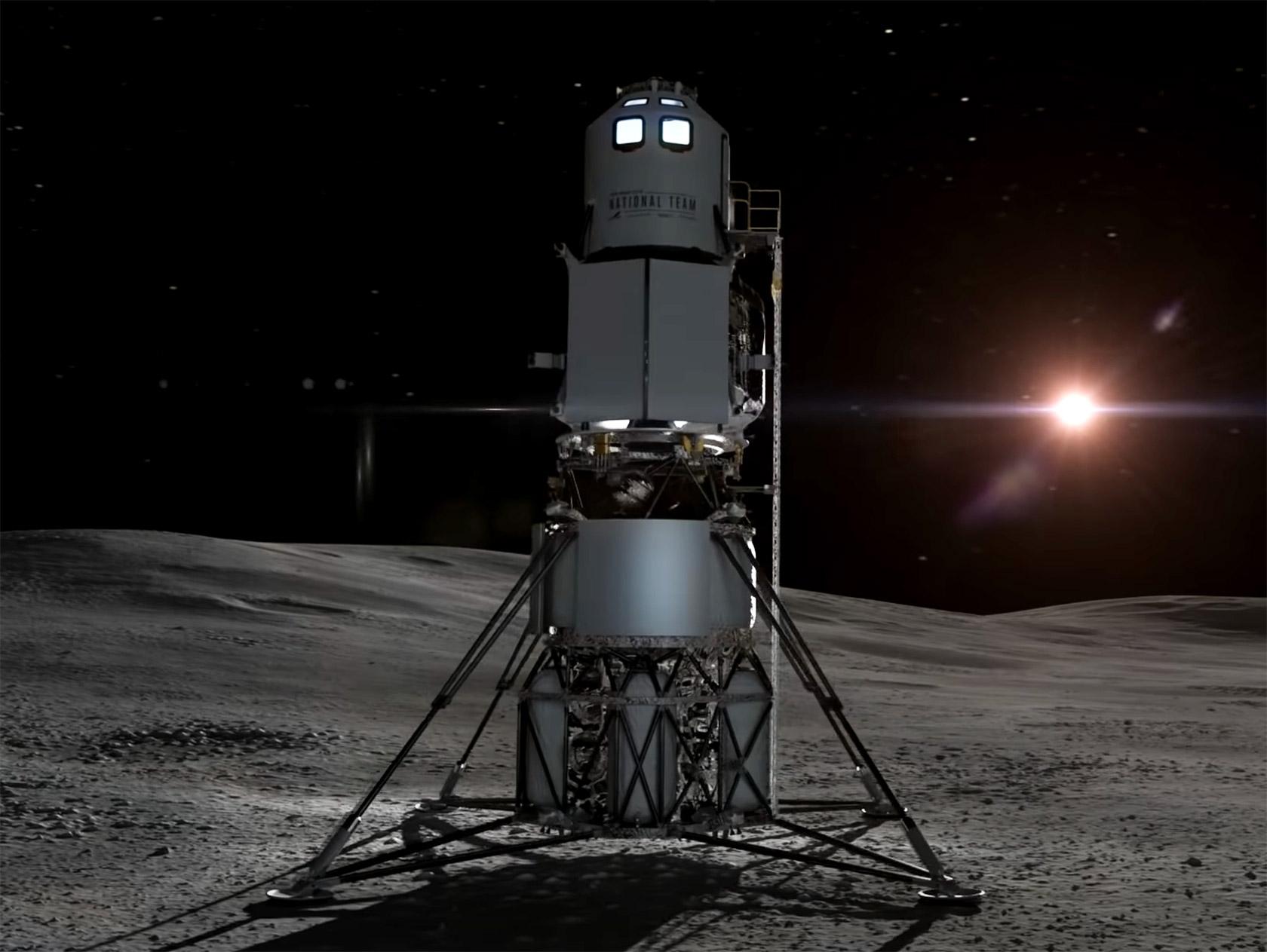 Blue Origin Lunar Lander NASA