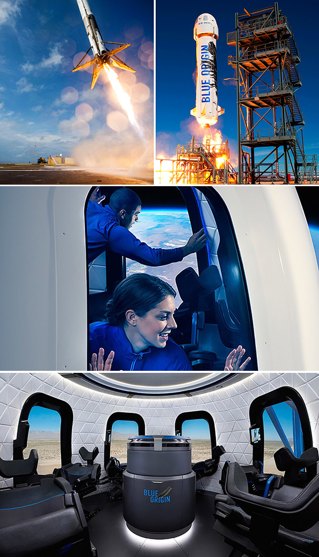 Blue Origin Space
