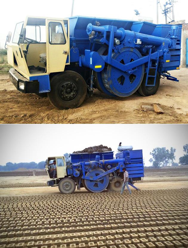 BMM300 ist eine Riesige Maschine, Die Können Machen die Fast 300 Steine Pro Minute