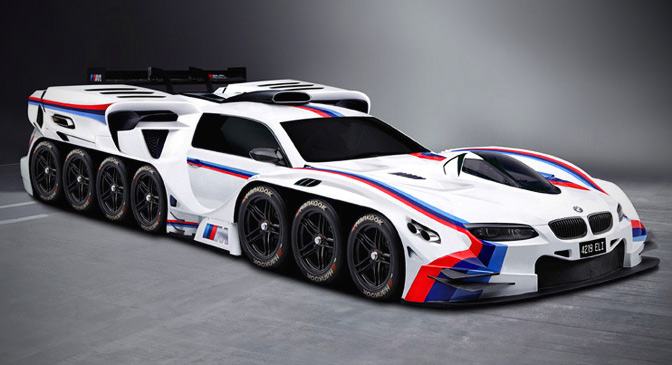 If Bmw Made A Wheeled Supercar With Engines This Is What It