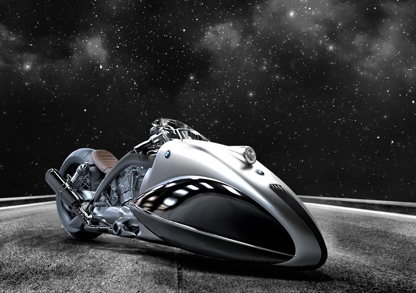BMW Apollo Streamer Motorcycle Looks to be Straight from a Sci-Fi Movie