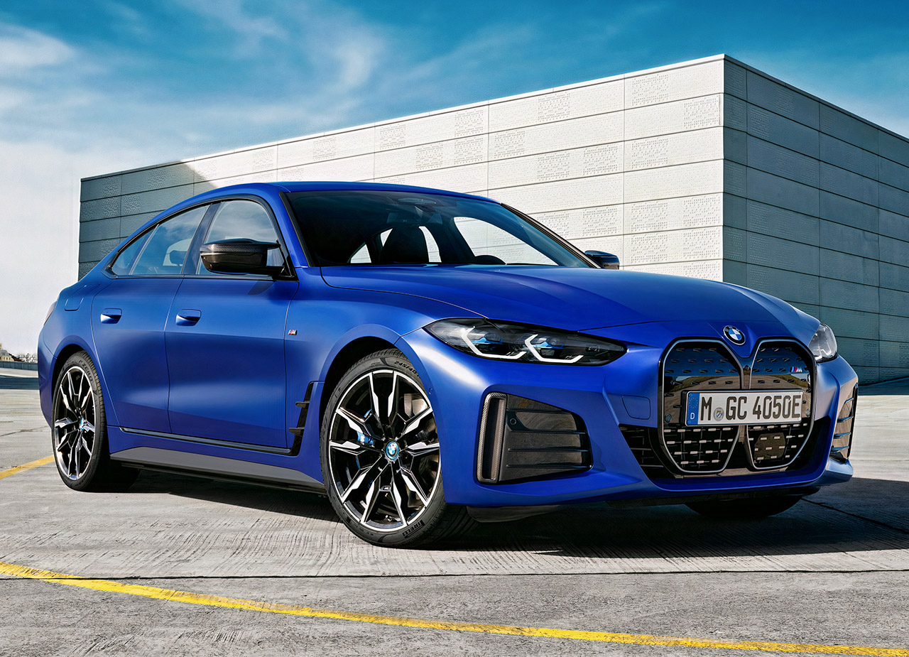 BMW i4 M50 Electric Gran Coupe