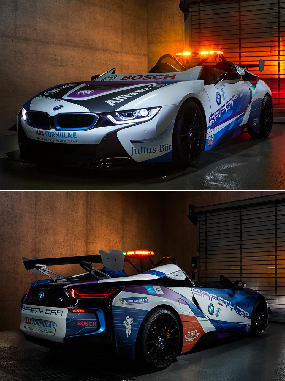 BMW i8 Roadster Formula E