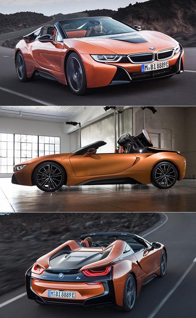 BMW i8 Roadster Fait des Débuts Officiels à LA salon de l'Auto, Ne 0-60 en 4,4 Secondes