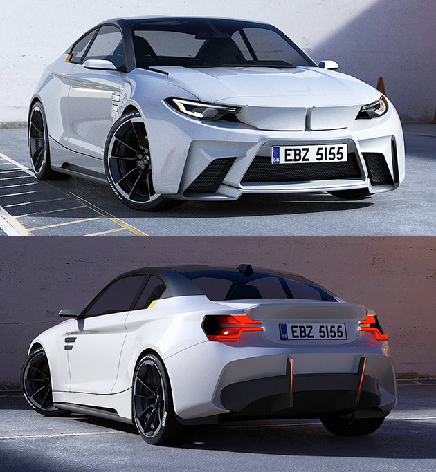 Bmw Im2 All Electric Sports Car Draws Inspiration From The M2 And I8