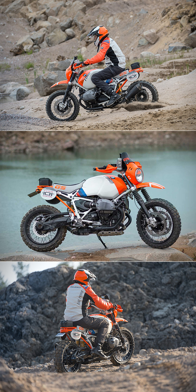 BMW Lac Rose Rally Motorcycle