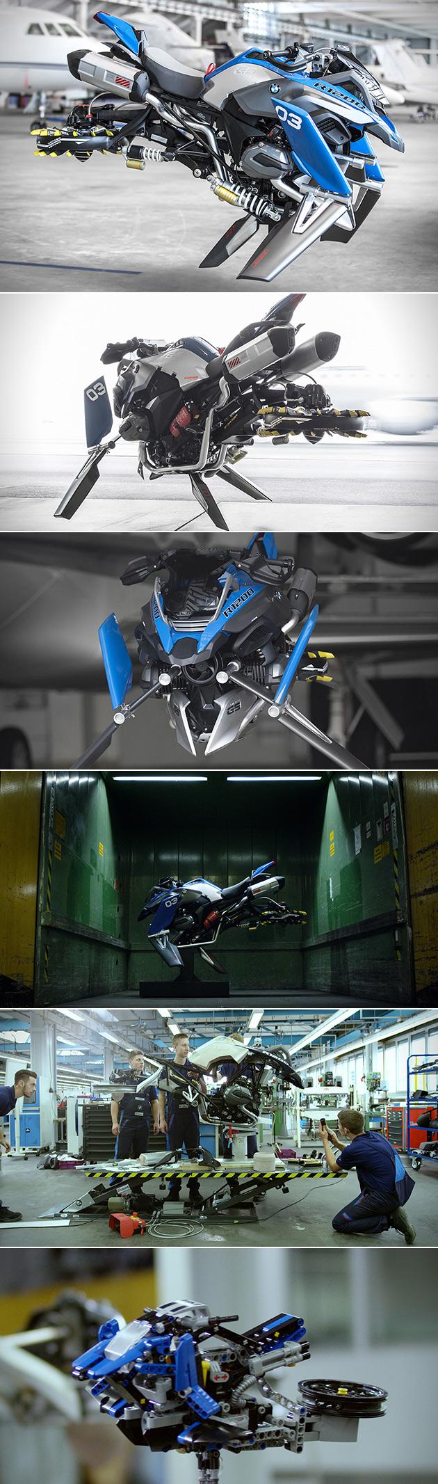 BMW LEGO Hover Bike
