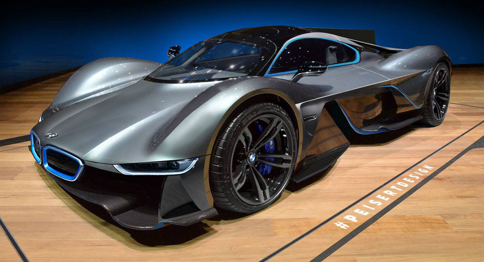 Bmw M Power Hypercar Could Take On The Aston Martin