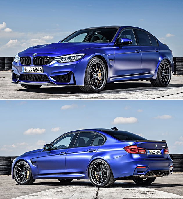Bmw M3 Cs: BMW M3 CS Officially Revealed, Comes In Frozen Dark Blue