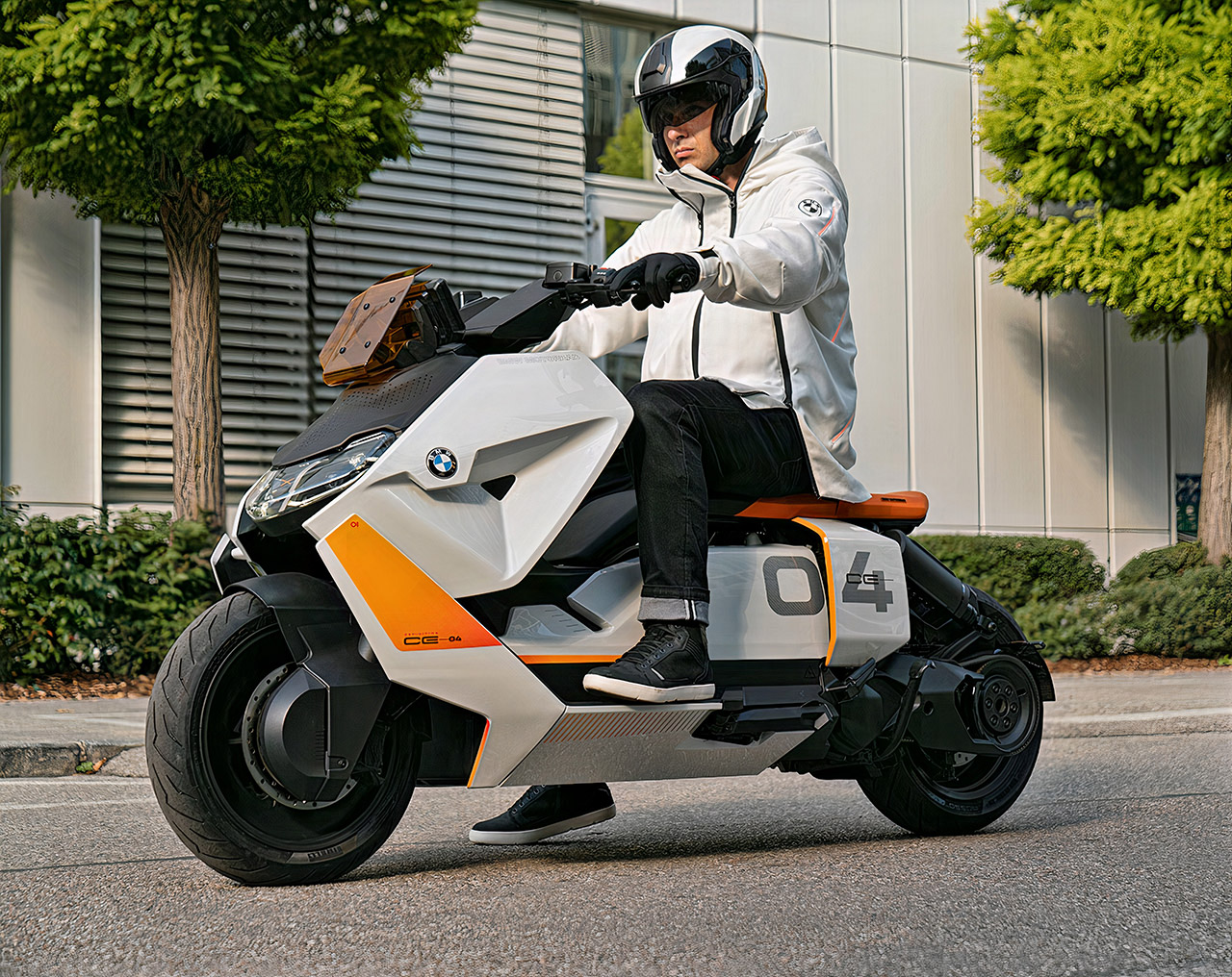 BMW Motorrad Definition CE 04 Electric Scooter