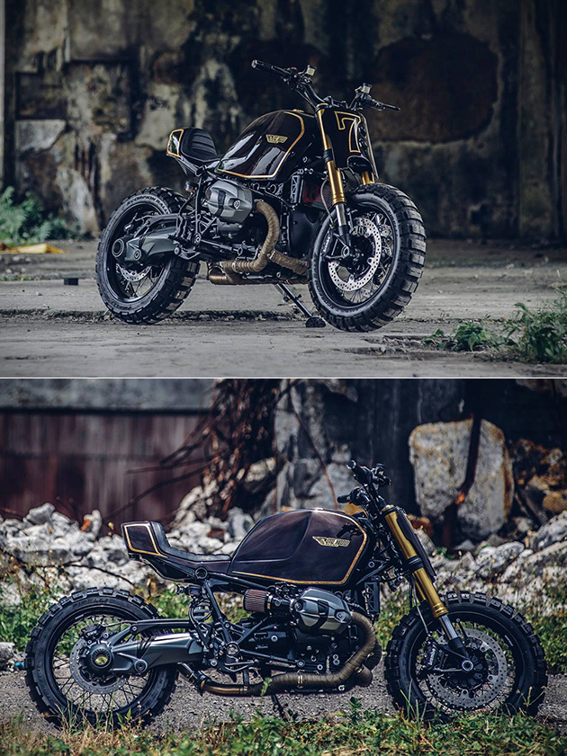 BMW R nineT Snickers
