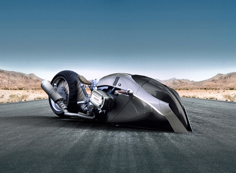Bmw R1100 Khan Is A Futuristic Motorcycle That Appears To