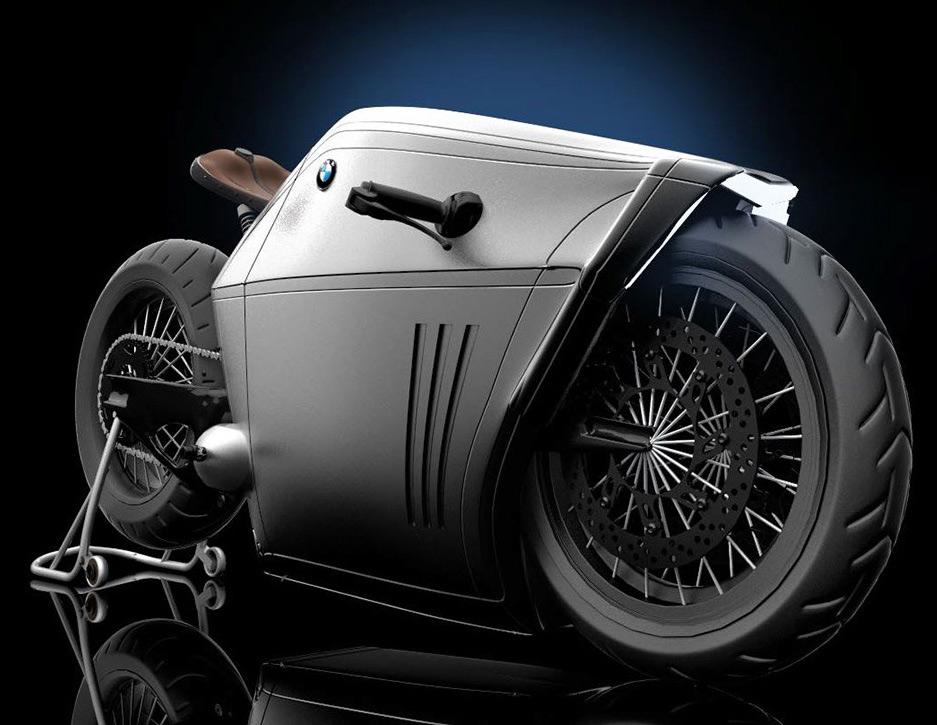 BMW Radical Motorcycle