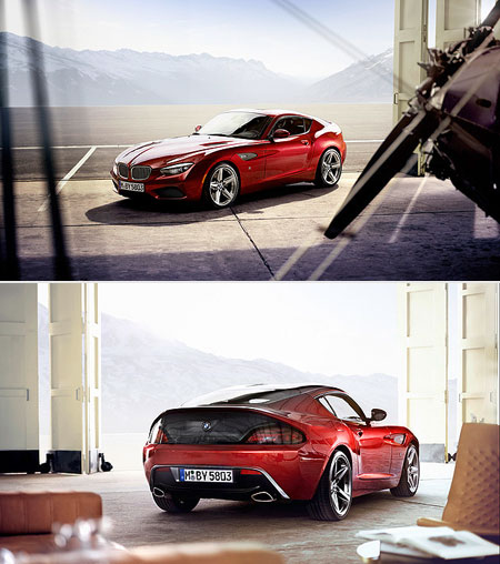 Bmw Zagato Roadster: Handbuilt BMW Zagato Coupe Unveiled