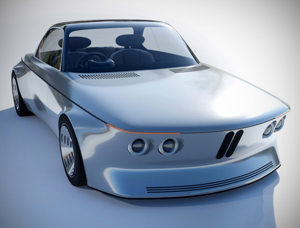 BMW EV9 Electric E9 Coupe