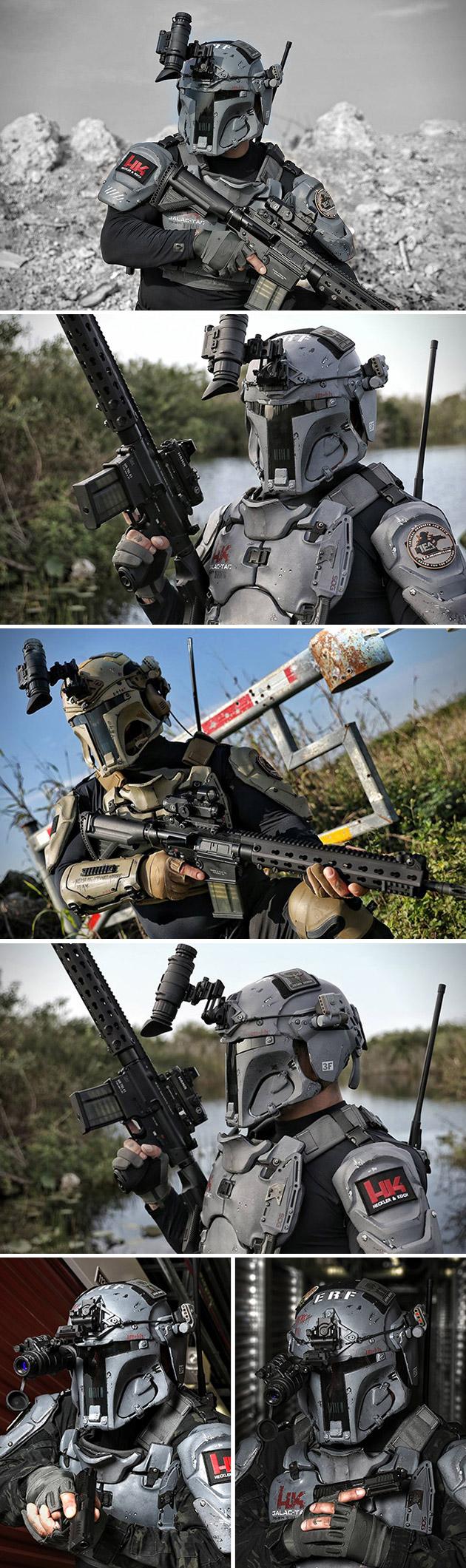 H&K GalacTac Project. Boba-fett-armor
